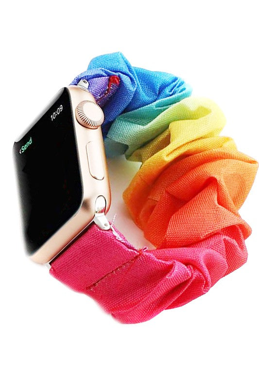Scrunchie Smart Watch Band