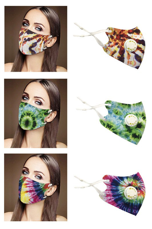 Tie Dye Respirator Dust Proof Fashion Mask