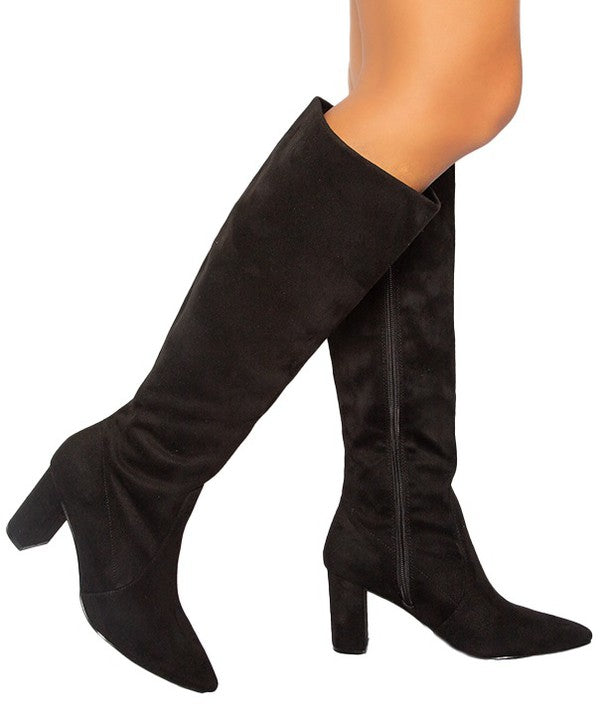 Classic Over The Knee Tall Boots