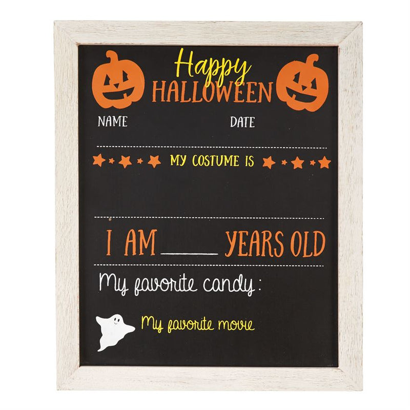 Double Sided Fall/Christmas Chalkboard