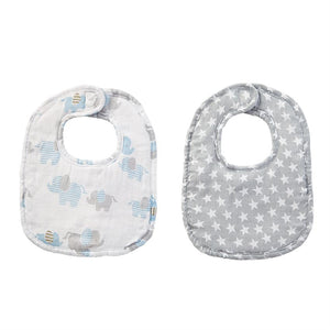 Twinkle Bamboo Bib Set by Mud Pie - Debs Boutique  LLC