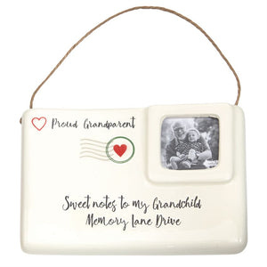 Sweet Note Grandparent Ornament