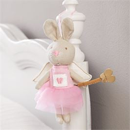 Mini Plush Tooth Fairy Bunny - Debs Boutique  LLC