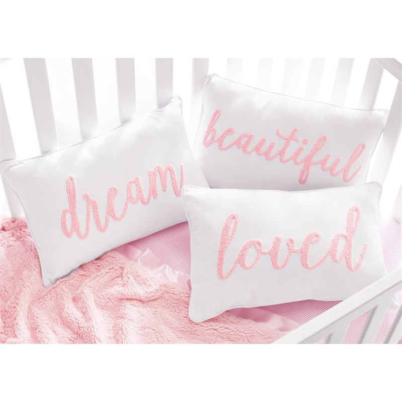 PINK BOUCLE PILLOWS - Debs Boutique  LLC