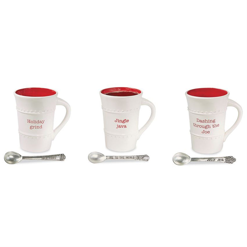 Christmas Coffee Mug & Spoon