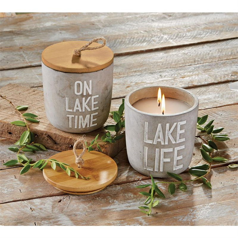 Sentiment 2 Piece Lake Citronella Candle