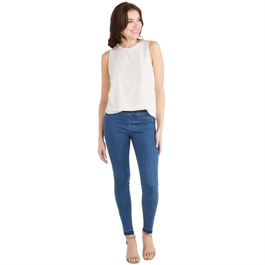 Sarah Medium Wash Leggings