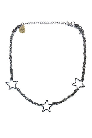 Tri Star Necklace