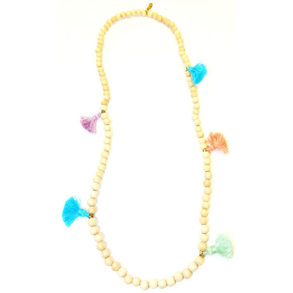 Mini Melvin For the Love of Tassels Necklace for Girls - Debs Boutique  LLC