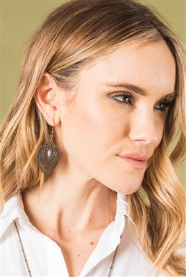 Go Goddess Pendant Earrings