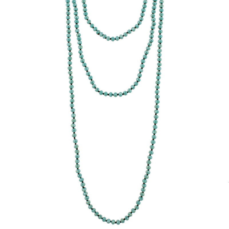 "80"" Hand Knotted Necklace - Debs Boutique  LLC"
