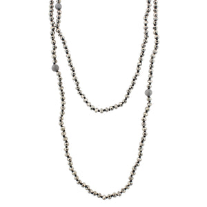 "80"" Hand Knotted Wrap Necklace"