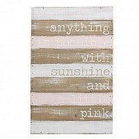ANYTHING IS POSSIBLE WALL ART by Mud Pie - Debs Boutique  LLC