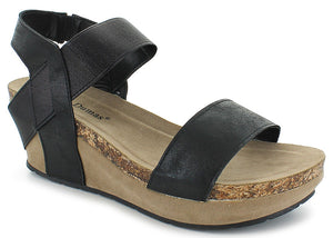 Chantal 2 Low Wedge slingback Sandal