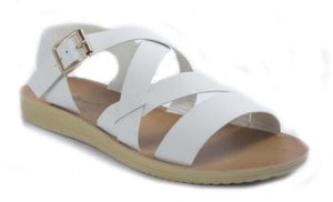 Crisscross Sandal with Buckle