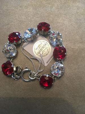 12 mm Alabama Crimson Tide Bracelet - Debs Boutique  LLC