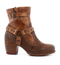 Octane II Short Leather Bootie