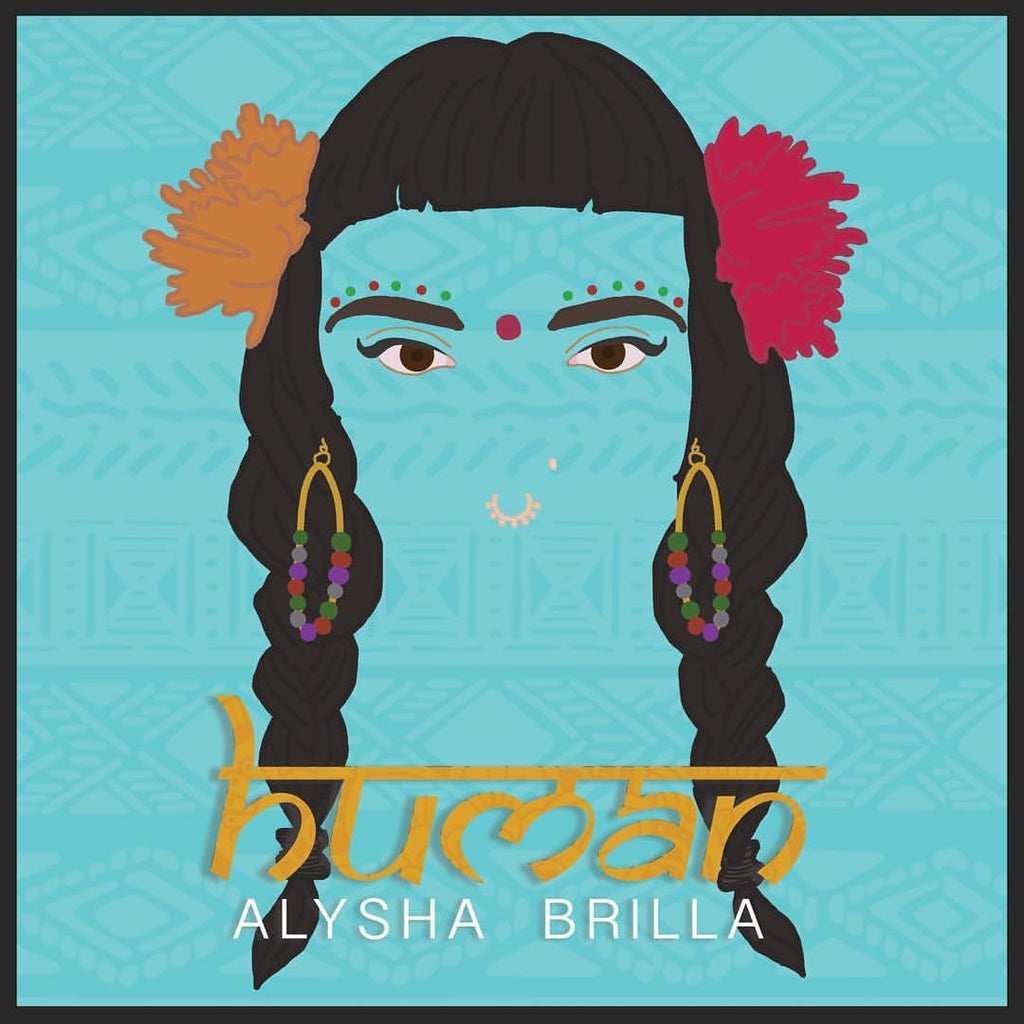 """Human"" CD *Autographed* by Alysha Brilla"