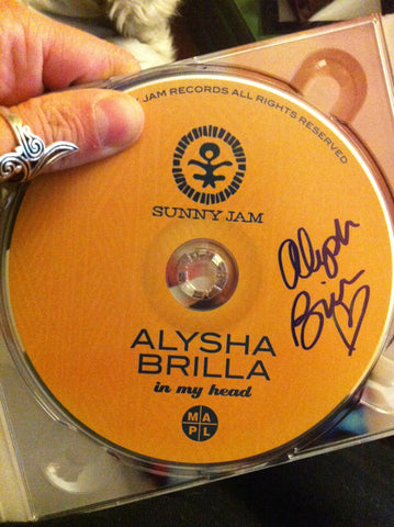 """In My Head"" CD *Autographed* by Alysha Brilla"