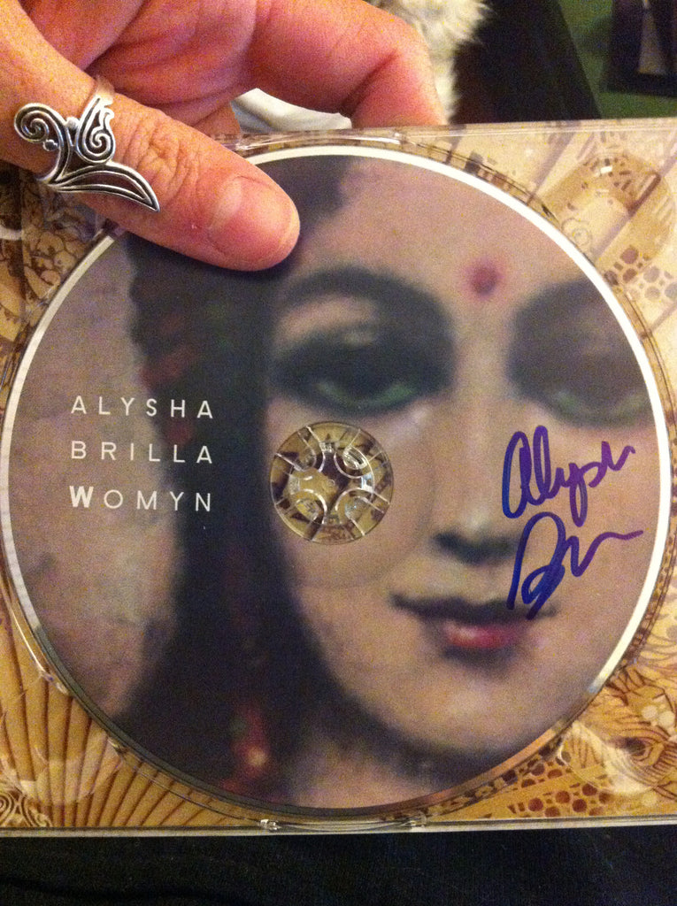 "WOMYN"" CD *Autographed* by Alysha Brilla"
