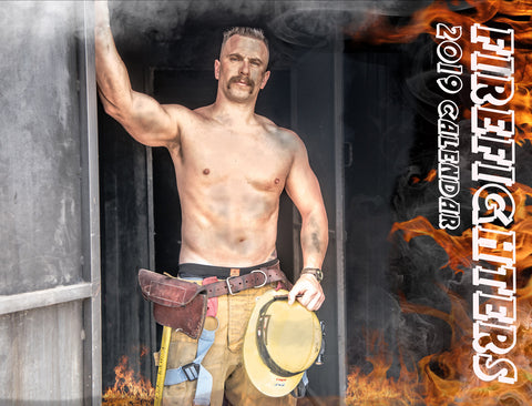 Heroes Come in All Sizes 2019 Firefighter Calendar