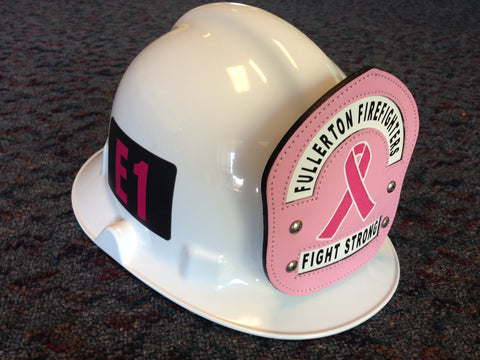 Limited Edition Pinktober Fire Helmet