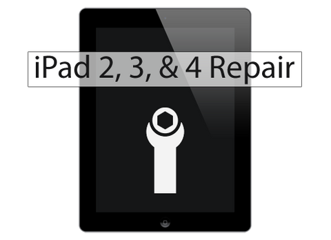 iPad Screen Replacement for 2nd, 3rd, & 4th Gen iPads