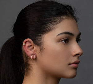 Rounded Stud Earrings