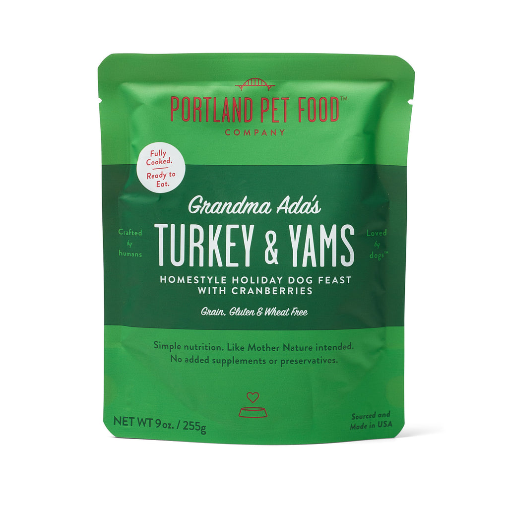 Grandma Ada's Turkey & Yams Grain & Gluten-Free Holiday Meal Feast