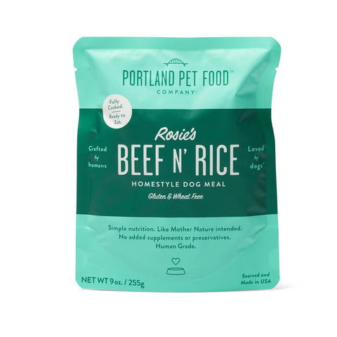 Rosie's Beef N' Rice Meal Pouch