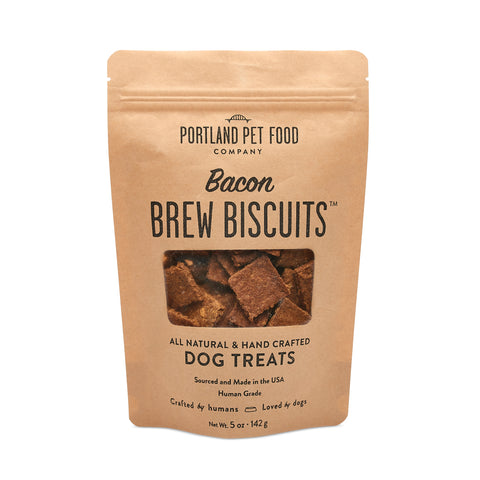 Brew Biscuits with Bacon Dog Treats