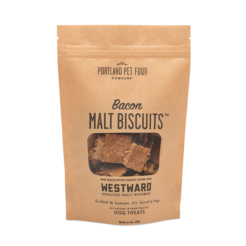 Malt Biscuits with Bacon Dog Treats