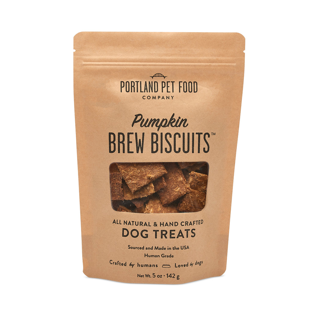 Brew Biscuits with Pumpkin Dog Treats