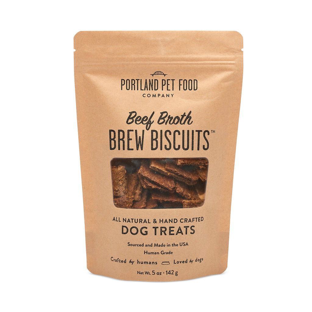 Brew Biscuits with Beef Broth Dog Treats