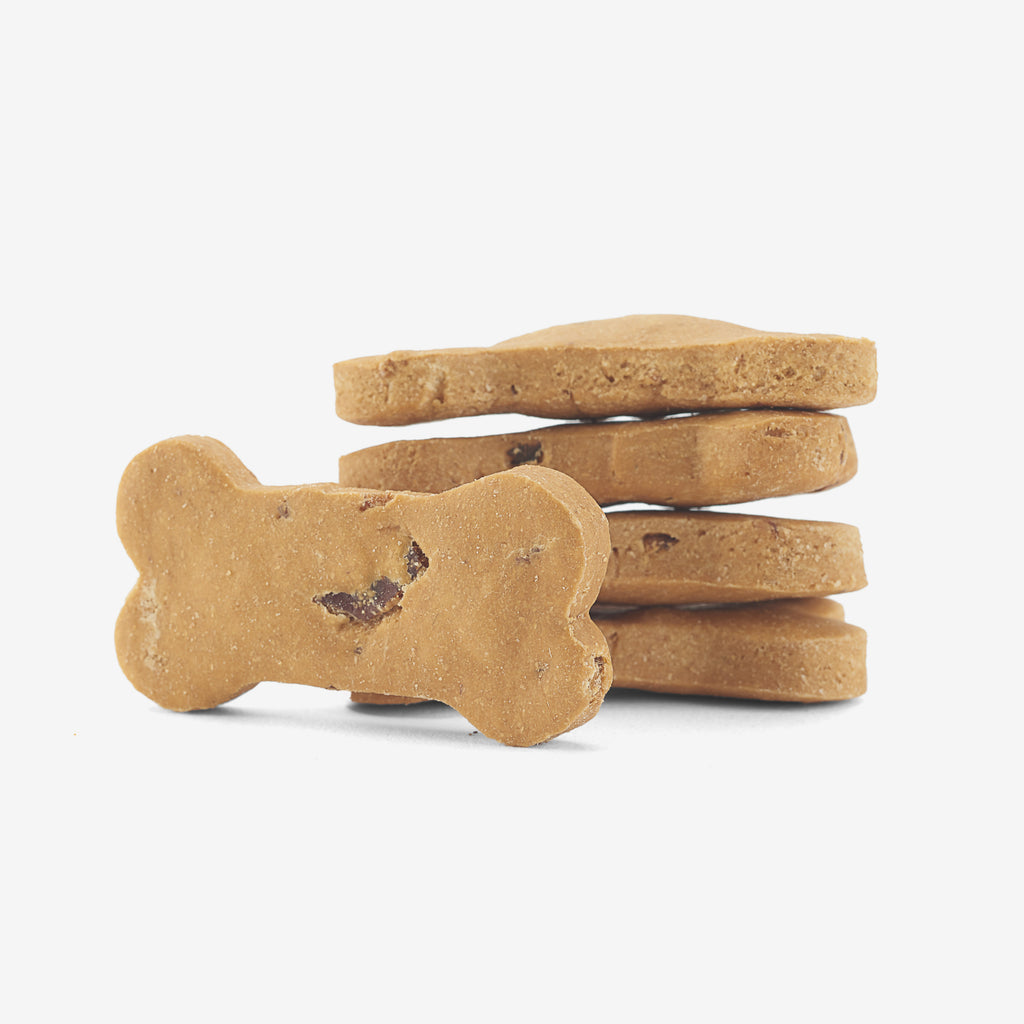 Grain & Gluten-Free Bacon Biscuit Dog bone treats