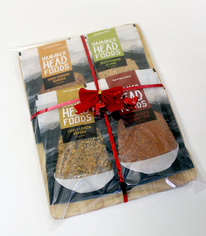 Gift Pack - Salt and Spice Collection with Chopping Board