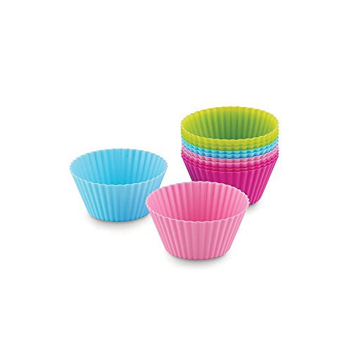 Silicone Bake Cups: Set of 12