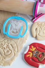 Ugly Christmas Sweater Cookie Cutter: Reindeer