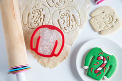 Ugly Christmas Sweater Cookie Cutter: Candy Cane