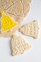 Christmas Bell 3-in-1 Flip & Stamp Cookie Cutter