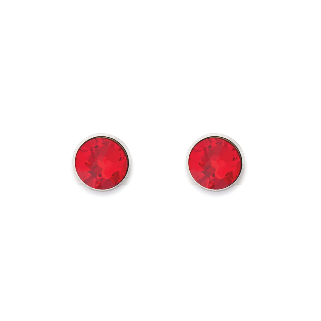 Stud Earrings with Swarovski® Crystals 0042 - 8 colours