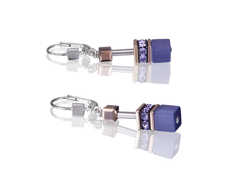 Geo Cube rose gold and amethyst purple 4016_0800