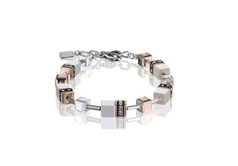 Geo Cube rose gold and white 4016_1400