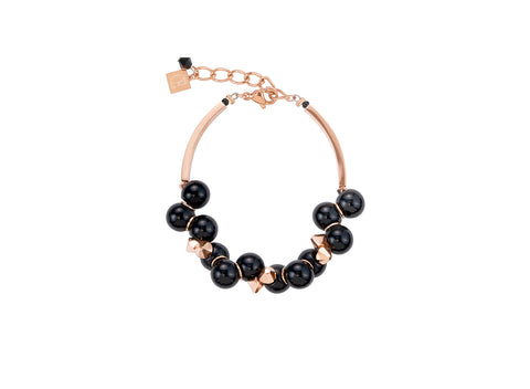Swarovski glossy black & rose gold 4937_1300