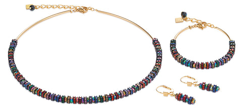 Swarovski multicolour & gold 4974_1500