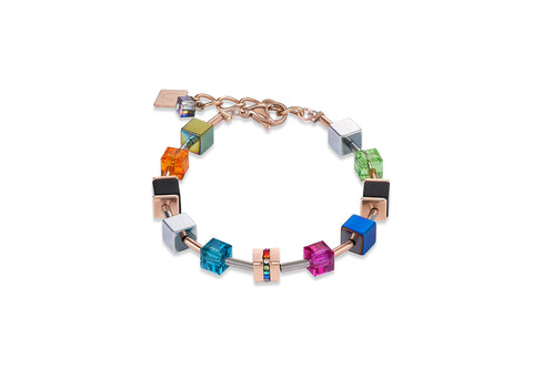 Geo Cube multicolour onyx rose gold 4980_1500