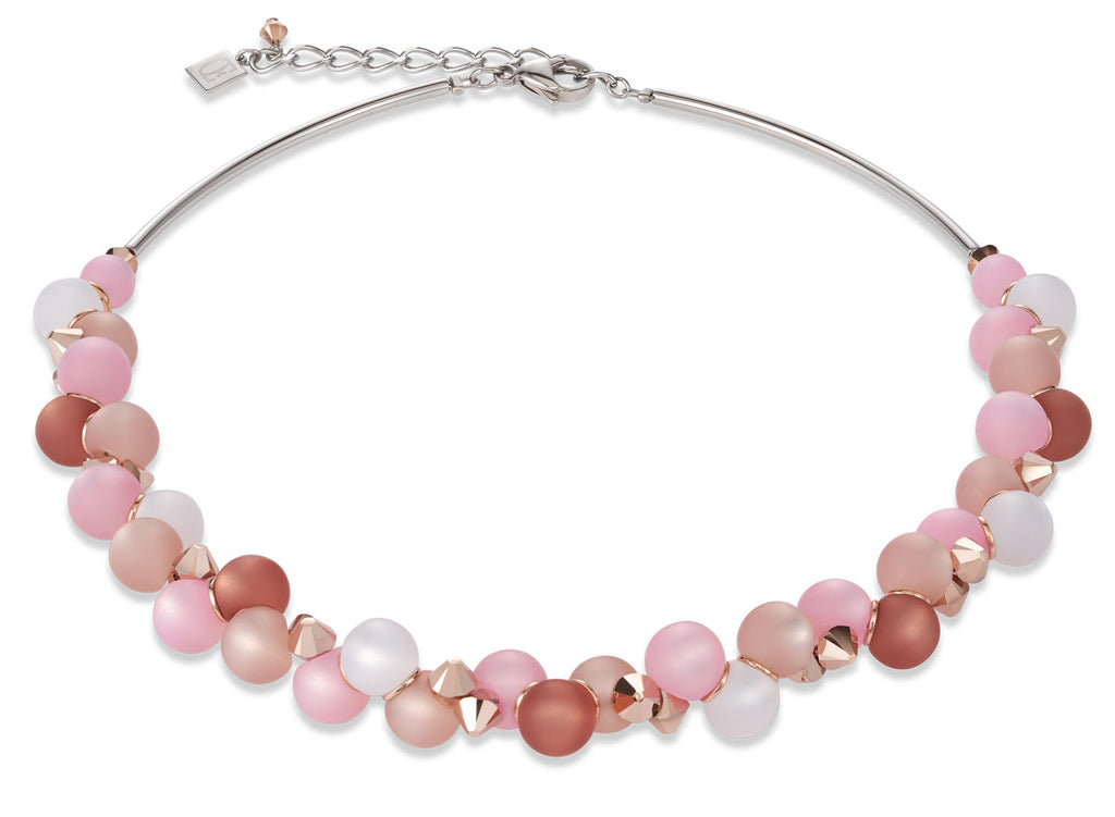 Soft pink matt  spheres 4994_1910
