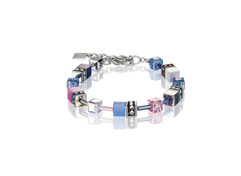 Geo Cube Pink, Navy and Sky Blue 2839_0719