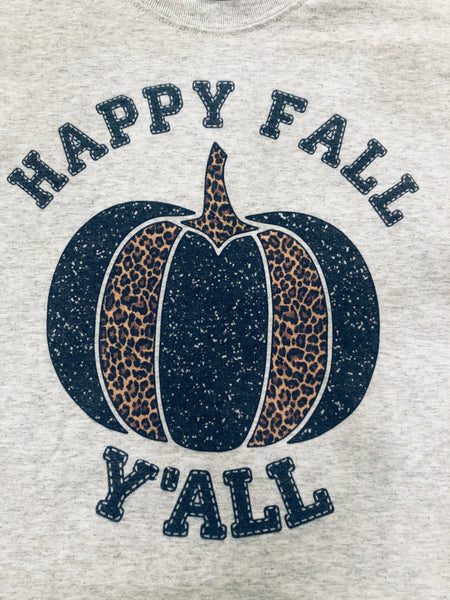 #703 Happy Fall Graphic Tee
