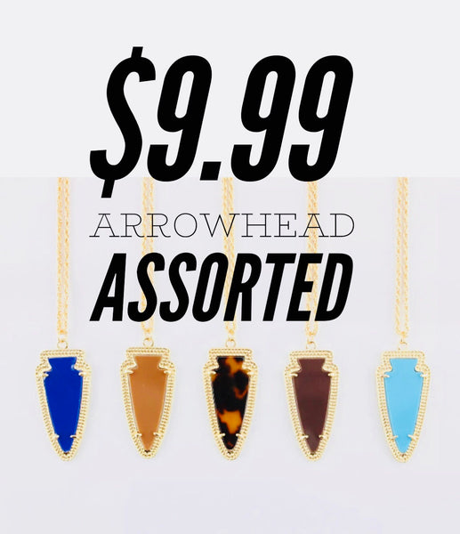 Arrowhead Necklace Assorted